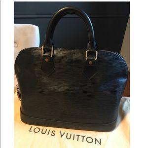 Louis Vuitton Epi Alma Black